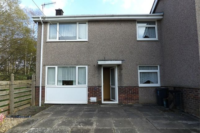 Thumbnail Semi-detached house for sale in Min Y Rhos, Ystradgynlais, Swansea, Powys
