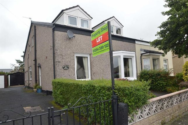 Thumbnail Semi-detached house to rent in Moss Hall Road, Accrington