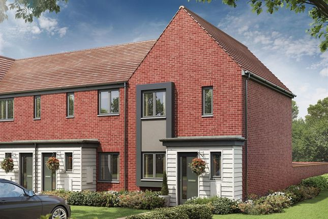 """Thumbnail End terrace house for sale in """"The Hanbury"""" at Eclipse, Sittingbourne Road, Maidstone"""