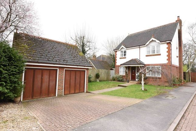 Thumbnail Detached house for sale in Strawberry Fields, Bramley, Tadley