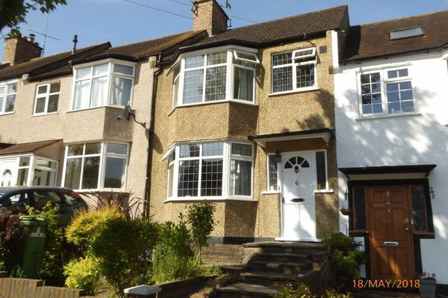 Thumbnail Terraced house for sale in Sherwood Road, Coulsdon