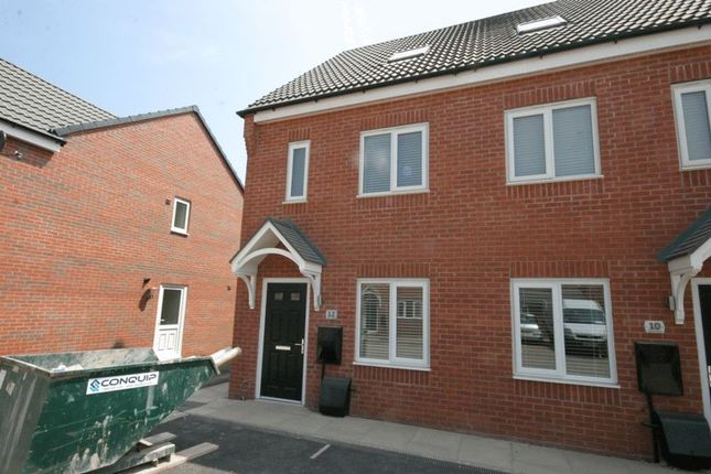 Thumbnail Town house to rent in Upton Drive, Stretton