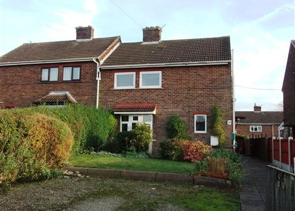 Thumbnail Semi-detached house for sale in Messingham Road, Scotter, Gainsborough