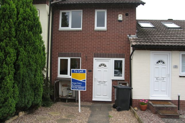 2 bed terraced house to rent in The Paddocks, Bicton Heath, Shrewsbury SY3