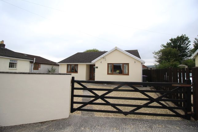 Thumbnail Detached bungalow for sale in Stanley Road, Garndiffaith, Pontypool