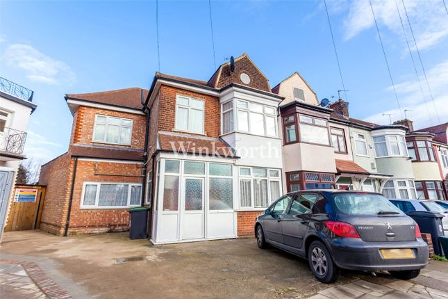 Thumbnail End terrace house for sale in Stirling Road, Wood Green, London