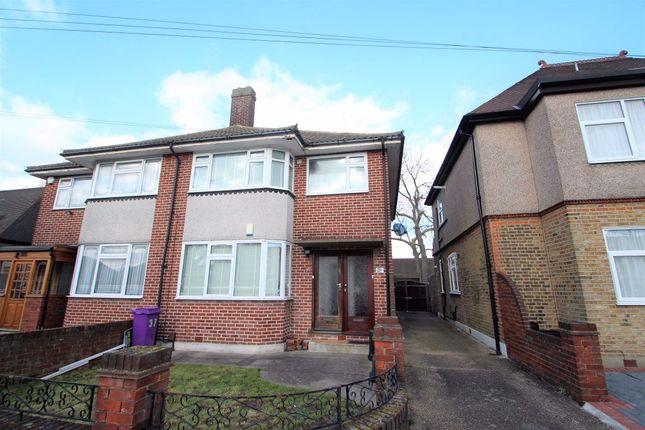 Thumbnail Maisonette to rent in Epsom Road, Seven Kings, Ilford