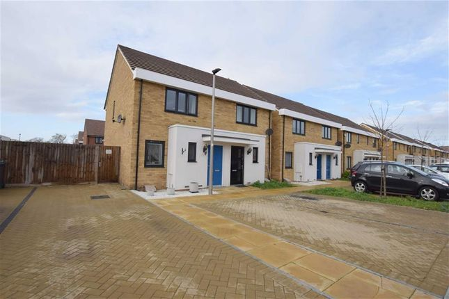 Thumbnail Semi-detached house for sale in Sanderling Close, East Tilbury, Essex