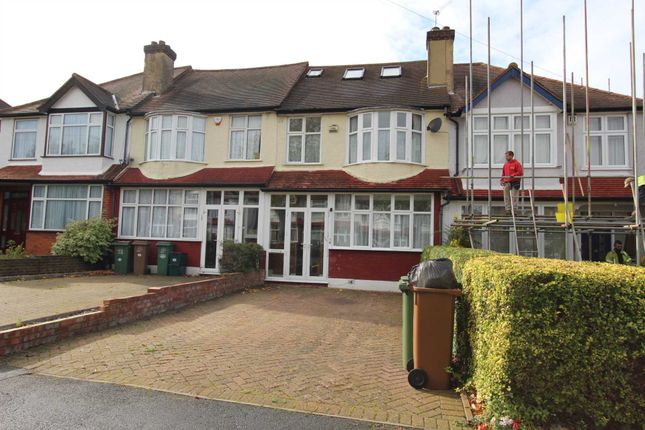 Thumbnail Terraced house to rent in Stoneleigh Avenue, Worcester Park
