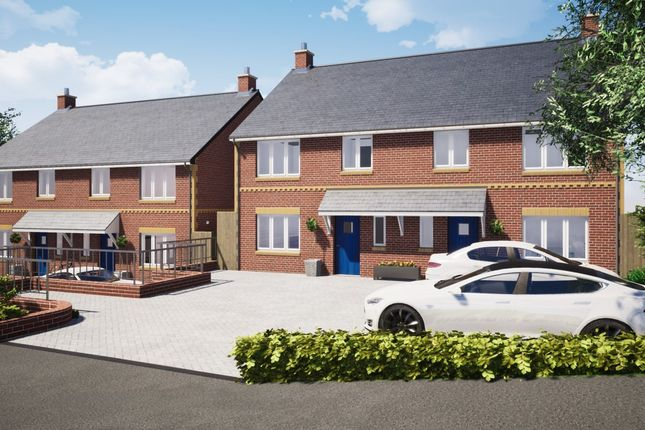 Thumbnail Semi-detached house for sale in Plot 1, The Firs, Cullompton