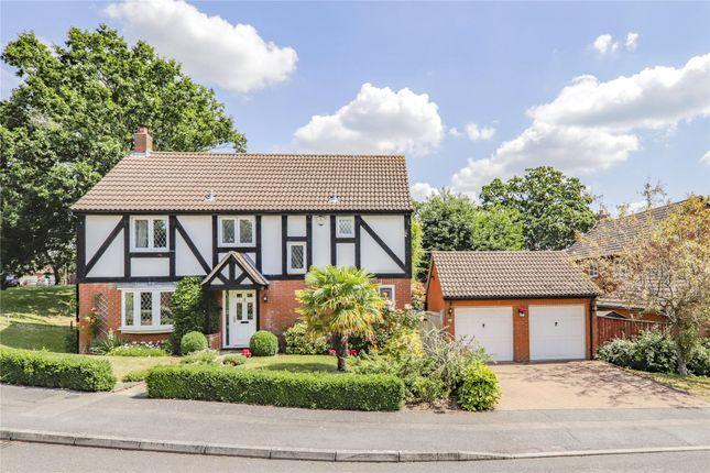 Thumbnail Detached house for sale in Fletcher Gardens, Amen Corner, Binfield, Berkshire