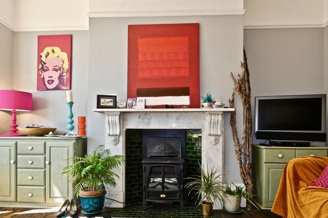 Twin Recessed Areas By Fireplace