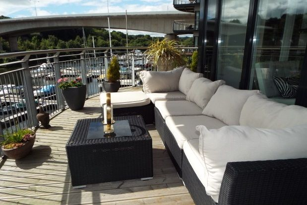 Thumbnail Flat to rent in Alexandria, Victoria Wharf, Watkiss Way, Cardiff