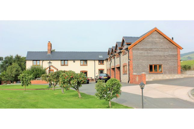Thumbnail Detached house for sale in Hope, Welshpool