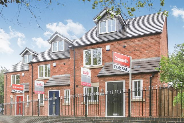 Thumbnail Town house for sale in Mill Lane, Off Wightwick Bank, Tettenhall Wood, Wolverhampton