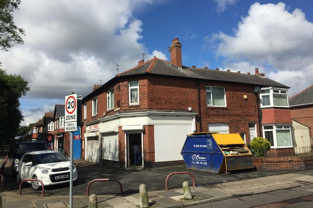 Thumbnail Retail premises to let in Verne Road, North Shields, Tyne & Wear