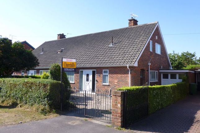 Thumbnail Semi-detached bungalow to rent in 119, Boroughbridge Road, York