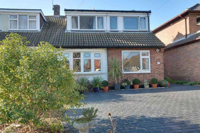 Thumbnail Semi-detached house for sale in Grasmere Road, Benfleet
