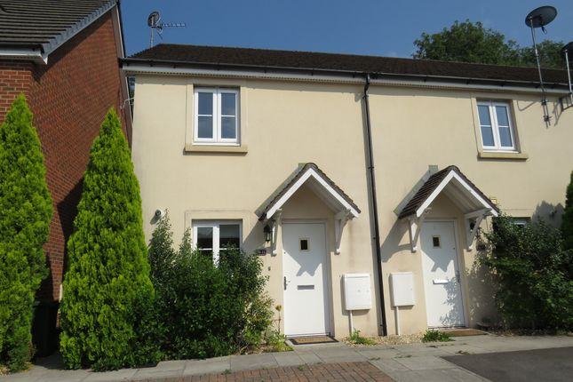 Thumbnail End terrace house for sale in Cadwal Court, Llantwit Fardre, Pontypridd