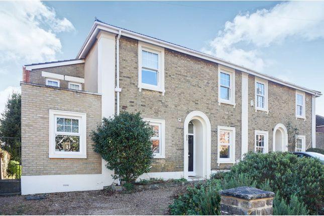 Thumbnail Semi-detached house for sale in Belmont Road, Portswood, Southampton