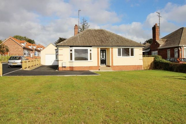 Thumbnail Detached bungalow for sale in 91 Racecourse Road, Scarborough
