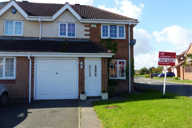 Thumbnail Semi-detached house for sale in Ascott Drive, Newhall