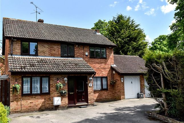 Thumbnail Detached house for sale in Lymington Avenue, Yateley, Hampshire