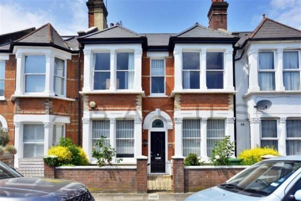 Thumbnail Terraced house for sale in Burrard Road, West Hampstead