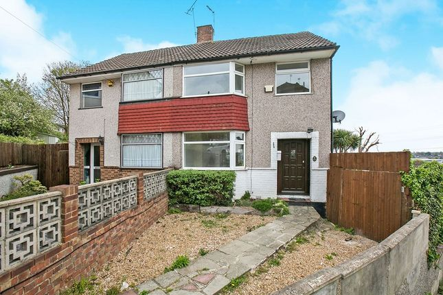 Thumbnail Semi-detached house to rent in Rectory Close, Crayford, Dartford
