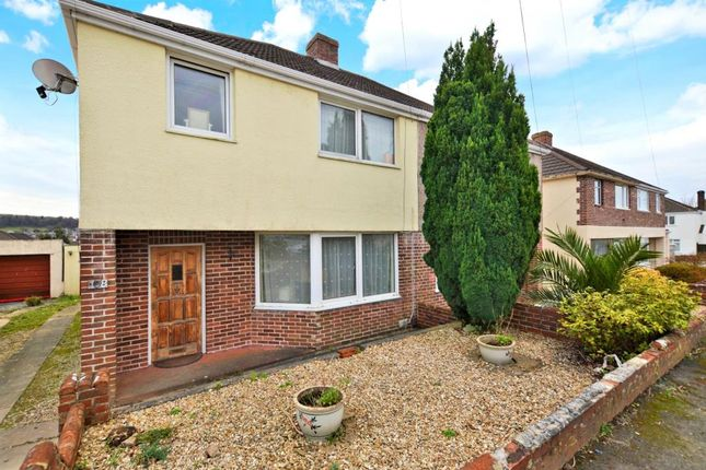 Thumbnail Semi-detached house for sale in St Margarets Road, Plymouth, Devon