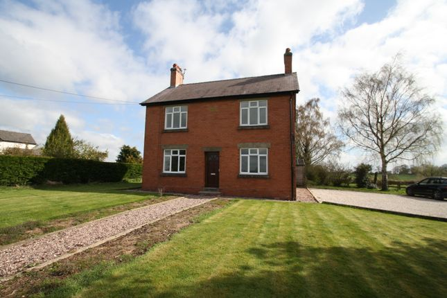 3 bed detached house to rent in Wrenbury Frith, Nantwich