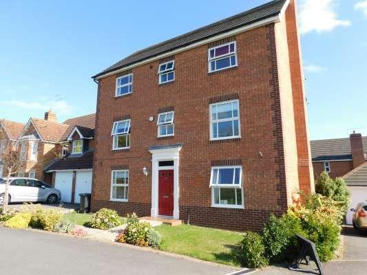 Thumbnail Detached house to rent in Malus Close, Hampton Hargate, Peterborough
