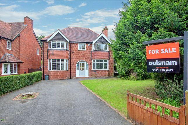 Thumbnail Detached house for sale in Chestnut Drive, Cofton Hackett, Birmingham