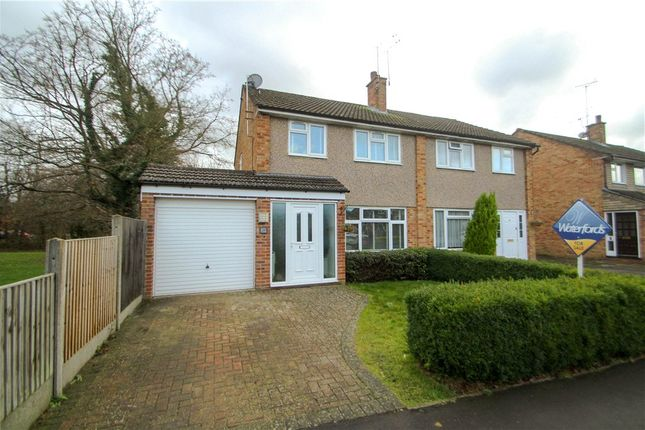 Thumbnail Semi-detached house for sale in Freemantle Road, Bagshot, Surrey