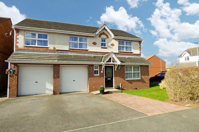 Thumbnail Detached house for sale in Chillingham Grove, Peterlee
