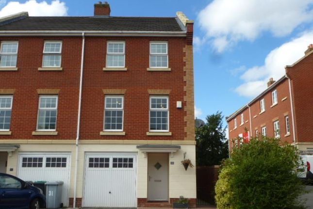Thumbnail Town house to rent in Jackson Avenue, Nantwich, Cheshire