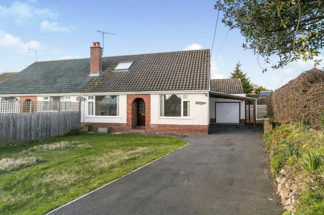 Thumbnail Bungalow for sale in Cilcain Road, Gwernaffield, Mold, Flintshire
