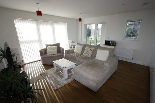 Thumbnail Flat to rent in Grove House, Wainwright Avenue, Ingress Park, Greenhithe