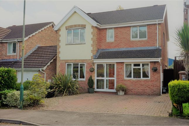 Thumbnail Detached house for sale in Cae Celyn, Newport