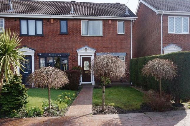 Thumbnail Semi-detached house for sale in Staveley Close, Bucknall, Stoke-On-Trent, Staffordshire