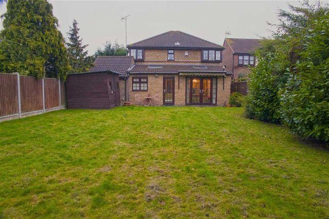 Thumbnail Detached house for sale in Elderberry Close, Langdon Hills, Essex