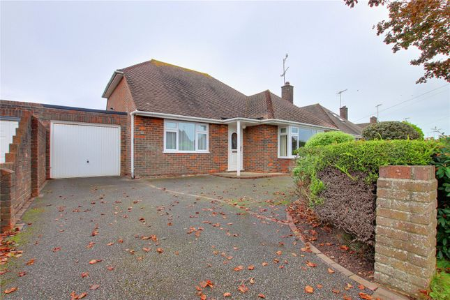 Thumbnail Bungalow for sale in Fairview Avenue, Goring-By-Sea, Worthing