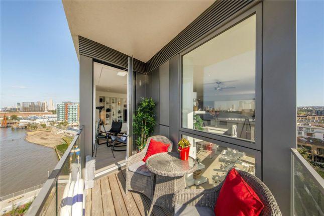 Thumbnail Flat to rent in Wyndham Apartments, 60 River Gardens Walk, London