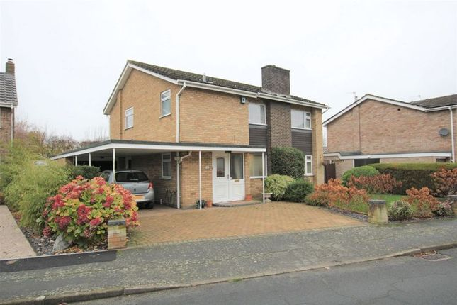 Thumbnail Detached house for sale in Sunningdale, Eaton, Norwich