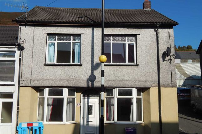 Thumbnail End terrace house to rent in Miskin Road, Trealaw, Tonypandy