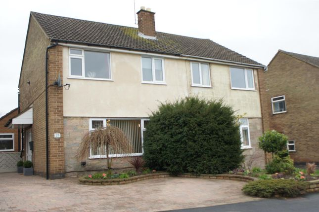 Thumbnail Semi-detached house for sale in Neville Drive, Markfield