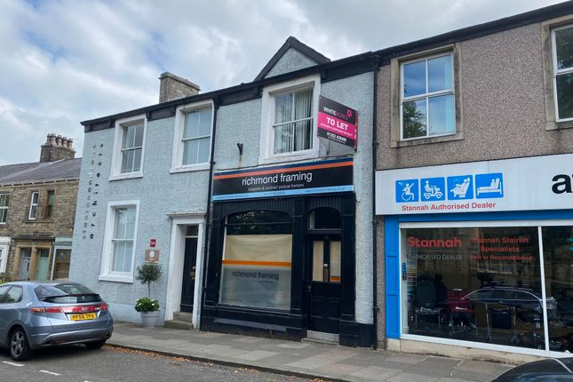Retail premises to let in York Street, Clitheroe