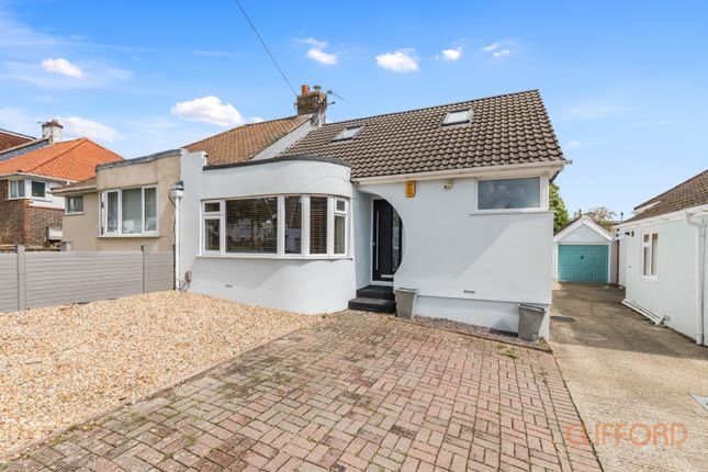 Thumbnail Semi-detached bungalow for sale in Glenfall Avenue, Brighton