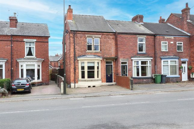 3 bed end terrace house for sale in Old Road, Brampton, Chesterfield S40
