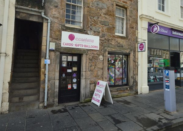 Retail premises for sale in Market Street, St. Andrews